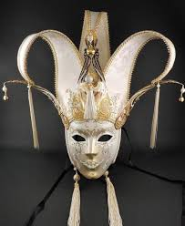 venetian mask jolly punte metallo venetian mask visions of venice