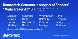 democrats bullish on bernie sanders and single payer health care