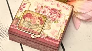 Decoupage Box Ideas - decoupage box tutorial diy by catherine