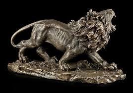 lion figurine large lion figurine veronese www figuren shop de
