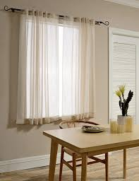 sheer curtain panels u2013 ease bedding with style