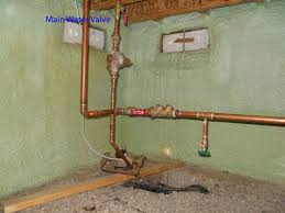 How To Shut Off Outside Water Faucet For Winter Diy Plumbing Frozen Water Pipes And Main Shut Off Valves Dengarden