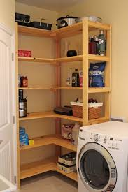 several must have washer and dryer cabinet design that you should standing natural wooden racks idea in laundry room with washer and dryer design in cream room
