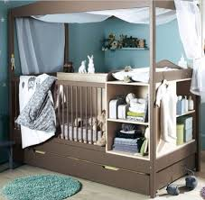 Cribs And Changing Tables Crib With Attached Changing Table And Drawers Chest Of Drawers