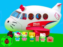 download video kitty airline playset toys review