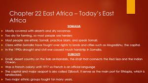East Africa Map Quiz by Pre Ap Geography November 17th U2013 25th Ppt Download