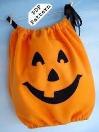 Halloween Costume Pumpkin Wicked Craft Week Handmade Kid U0027s Pumpkin Costume Cozy