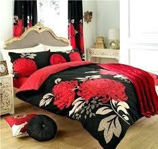 Black Duvet Cover King Size Black White Red Duvet Covers Red Grey Black Duvet Covers Red Black