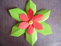 5 origami paper decorations