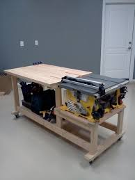table saw workbench plans wonderful table saw bench plans free building your own wooden