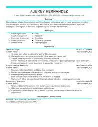 captivating administrative resume examples
