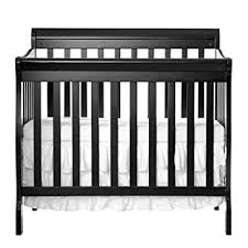 Mini Convertible Cribs On Me 4 In 1 Aden Convertible Mini Crib Black