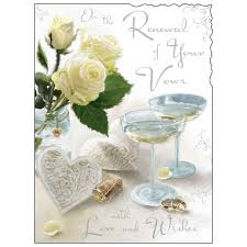 vow renewal cards congratulations renewal of your wedding vows card karenza paperie