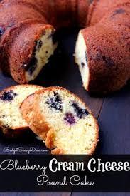 blueberry cream cheese pound cake recipe cream cheese pound