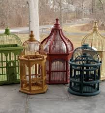 Decorative Bird Cages For Centerpieces by Decorative Birdcages Wood U0026 Iron Bird Cages For Display