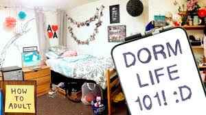 dorm life essentials what to pack for college dorms youtube