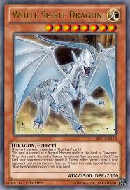 white spirit dragon yugioh ocg by yeidenex on deviantart