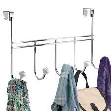 York Bathroom Accessories by York Over Door Five Hook Rack In Over The Door Hooks
