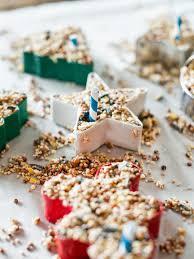 kids u0027 craft bird seed christmas ornaments hgtv