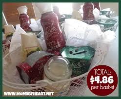 per gift basket the 10 gift basket challenge results total 4 86 per basket use
