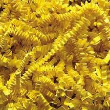 crimped paper shred 1 lb crimped paper shred yellow balloons123