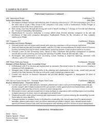 distribution analyst sample resume financial operations analyst