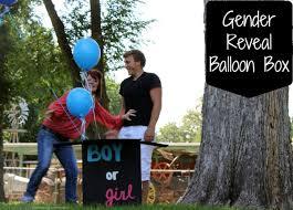 balloons in a box gender reveal 52 weeks of week 31 gender reveal balloon box