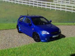 opel corsa opc opel corsa c opc model car kits hobbydb