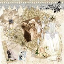 vintage wedding albums 29 best scrapbooking wedding album ideas images on