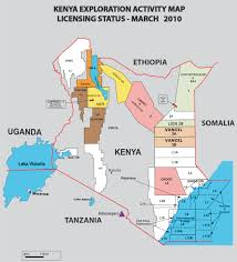 Kenya Map Africa by Vanoil Energy Ltd Kenya Sun Oct 1 2017
