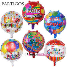 helium birthday balloons 50pcs lot 18 balloon design birthday balloons