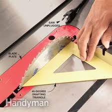 miter cuts on table saw how to use a table saw cross cutting family handyman