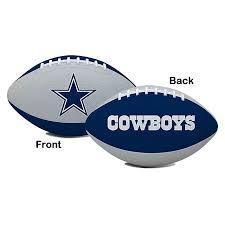dallas cowboys hail youth size football footballs