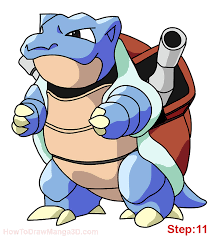blastoise pokemon color pages images pokemon images