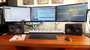 Music Studio Desk by Home Recording Studio Complete Setup Youtube