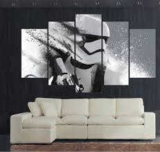 wars decorations 5 canvas print stormtrooper wars poster canva
