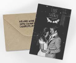 wedding thank you card wedding thank you card and thanks