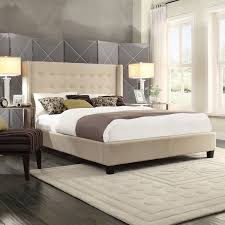 modern wing back bed ideas free reference for home and interior