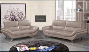 Milan Leather Sofa by Rom Decor Leather Sofa Sets