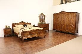 1930s bedroom furniture italian 1930 s vintage 5 door carved walnut armoire wardrobe or closet