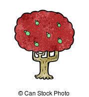 apple cartoon cartoon apple tree vector illustration eps vector search clip