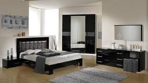 Black And Silver Bed Set Moon Black U0026 Silver 5pc Bedroom Set By Vig W Options