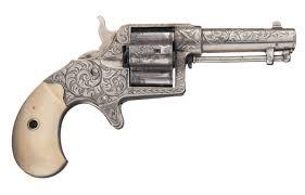 Cloverleaf Home Interiors Rare Nimschke Engraved Colt Cloverleaf House Model Revolver With