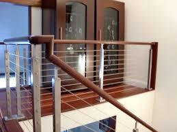 home interior railings interior cable railing in norwalk ct riverside fence