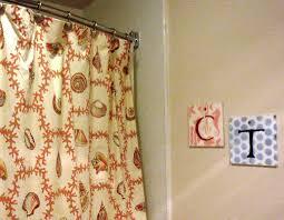 beach style seashell curtains u2014 jen u0026 joes design