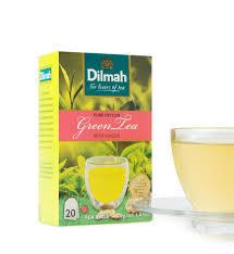 Teh Dilmah green tea dilmah ceylon green tea with