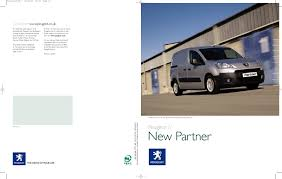 peugeot expert partner van ranges peugeot partner brochure by day u0027s motor group issuu