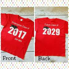 kindergarten graduation shirt kindergarten graduation gift