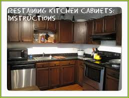 staining kitchen cabinets before and after staining kitchen cabinets darker before and after amazing before and