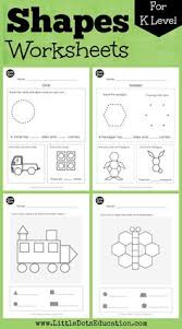 free circle shape worksheet for kindergarten visit www